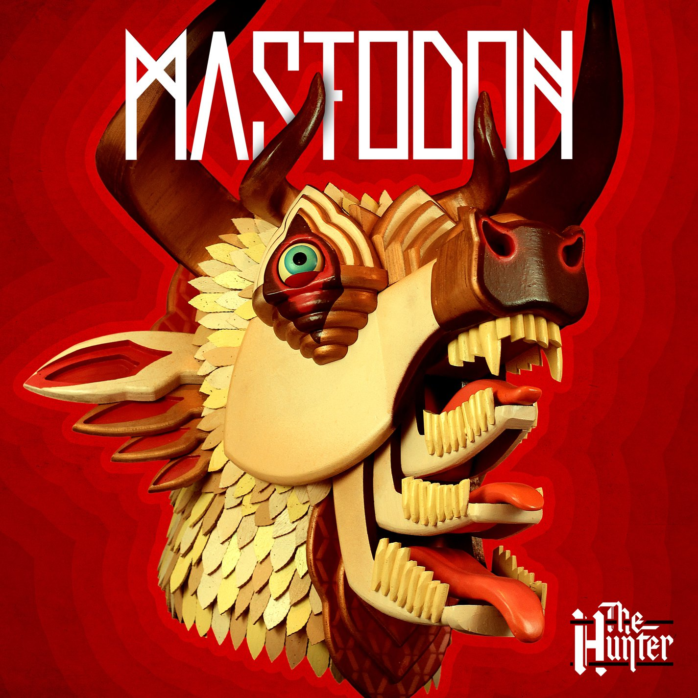 Mastodon-The Hunter album cover