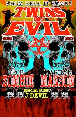 Rob Zombie - Marilyn Manson 2012 Tour